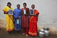 Solar engineers in Tinginaput, India. Photo by Abbie Trayler-Smith/Panos Pictures/Department for International Development