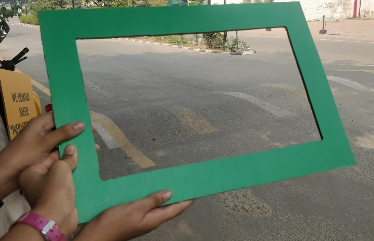 Things that children liked were captured in a green frame.